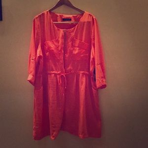 Fashion To Figure Coral Summer Dress